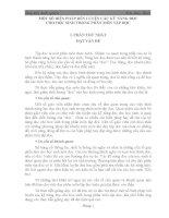skkn MỘT SỐ BIỆN PHÁP RÈN LUYỆN CÁC KỸ NĂNG ĐỌC CHO HỌC SINH TRONG PHÂN MÔN TẬP ĐỌC