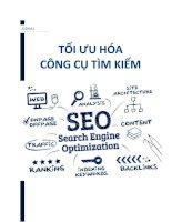 tiểu luận môn internet marketing tối ưu hóa công cụ tìm kiếm seo