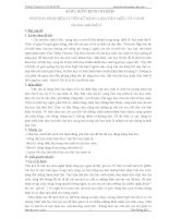 skkn PHƯƠNG PHÁP rèn LUYỆN kĩ NĂNG làm văn MIÊU tả CẢNH