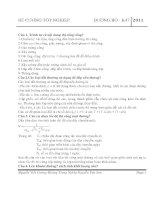 176 câu hỏi bảo vệ tốt nghiệp thương gặp về đường bộ