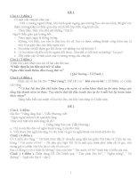 Tuyển tập đề thi học sinh giỏi ngữ văn 8 có đáp án