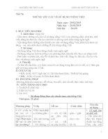 GIÁO án 4 những yêu cầu sử dụng tiếng việt