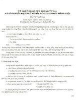 Về hoạt động của trạng từ Déjà và cách biểu đạt ngữ nghĩa của déjà trong tiếng Việt.PDF