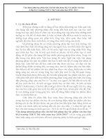 skkn Vận dụng phương pháp nêu câu hỏi khi giảng dạy tác phẩm văn học lớp 8A3 trường THCS Thị trấn năm học 20102011