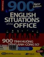 900 tình huống tiếng Anh công sở Công việc hành chính. Xin việc và phỏng vấn