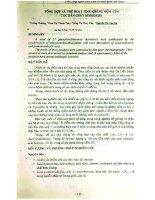 Tổng hợp và thử hoạt tính kháng nấm của các dẫn chất Dithioure