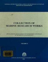 Tuyển tập Nghiên cứu biển Tập 10  Viện Hải dương học