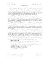 Đồ án tốt nghiệp: Lập hồ sơ dự thầu gói thầu xây lắp công trình chung cư phục vụ giải phóng mặt bằng điểm X2 Hạ Đình – Thanh Xuân – Hà Nội