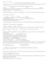Câu hỏi trắc nghiệm dòng điện xoay chiều ôn tập Vật Lý 12