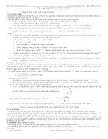Chương hạt nhân nguyên tử vật lý 12 ôn thi đại học