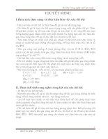 Thiết kế quy trình gia công chi tiết thân đồ gá H20 (Thuyết minh + bản vẽ)