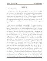 Tiểu luận triết học Ý nghĩa câu châm ngôn Dụng nhân như dụng mộc Thực tế việc sử dụng nhân lực trong giai đoạn hiện nay