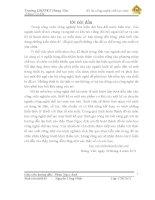 THIẾT KẾ QUY TRÌNH CÔNG NGHỆ CHẾ TẠO MÁY CHI TIẾT CHÊM T2 (thuyết minh + bản vẽ)