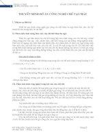 Thiết kế quy trình gia công chi tiết thân ba ngả H42 (thuyết minh + bản vẽ)