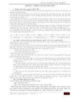 THIẾT KẾ QUY TRÌNH CÔNG NGHỆ GIA CÔNG CHI TIẾT THÂN ĐỠ BƠM H30 ĐHSPKT HƯNG YÊN ( thuyết minh + bản vẽ)