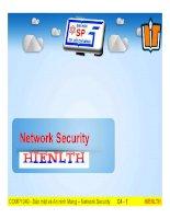 Hệ thống phòng chống xâm nhập IDS Snort
