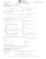 15 bộ đề ôn luyện thi đại học toán cấp tốc