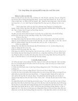 tiểu luận Các ứng dũng của quang phổ trong sản xuát bia rươu