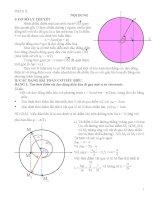 chuyển đề sử dụng góc quét giải nhanh một số bài tập vật lý 12