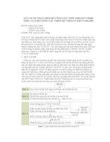 XÂY DỰNG PHẦN MỀM BÊ TÔNG CỐT THÉP 2008 (BTCT2008) PHỤC VỤ CHO CÔNG TÁC THIẾT KẾ THEO TCXDVN 356-2005