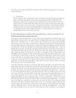 TIỂU LUẬN TÌM HIỂU SỰ VẬN DỤNG VÀ PHÁT TRIỂN TƯ TƯỞNG HỒ CHÍ MINH VỀ CHỦ NGHĨA XÃ HỘI TRONG GIAI ĐOẠN CÁCH MẠNG NƯỚC TA HIỆN NAY