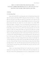MẤY VẤN ĐỀ VỀ PHƯƠNG PHÁP DẠY HỌC CHƯƠNG TRÌNH CHUYÊN SÂU Ở CÁC LỚP CHUYÊN VĂN TRƯỜNG TRUNG HỌC PHỔ THÔNG CHUYÊN