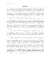 """Thực trạng và Giải pháp đẩy mạnh cuộc vận động """"Học tập và làm theo tấm gương đạo đức Hồ Chí Minh"""" ở Chi bộ 24- Đảng bộ trường Đại Học An Giang đến năm 2015"""