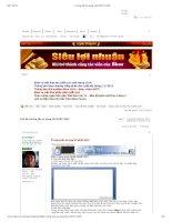 Hướng dẫn sử dụng MS WORD 2007