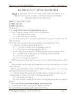BÀI TIỂU LUẬN TƯ TƯỞNG HỒ CHÍ MINH ĐỀ TÀI QUAN ĐIỂM CỦA HỒ CHÍ MINH VỀ VẤN ĐỀ CÁCH MẠNG GIẢI PHÓNG DÂN TỘC VÀ VAI TRÒ CỦA NGƯỜI TRONG SỰ NGHIỆP GIẢI PHÓNG DÂN TỘC VIỆT NAM