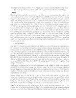 NGHIÊN CỨU ẢNH HƯỞNG CỦA CHIỀU CAO RƠI VÀ GÓC PHÓNG ĐẾN ỨNG XỬ CỦA XUỒNG CỨU SINH THẢ RƠI TỰ DO TRONG SÓNG ĐIỀU HÒA