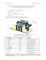 Nghiên cứu thiết kế hệ thống phân loại sản phẩm