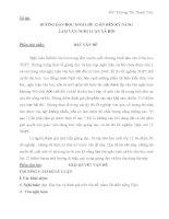 ƯỚNG DẪN HỌC SINH LỚP 12 ÔN RÈN KỸ NĂNG LÀM VĂN NGHỊ LUẬN XÃ HỘI