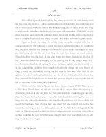 phân tích doanh thu tại công ty TNHH Thương mại & Xây dựng Thanh Bình