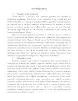 chuyển dịch cơ cấu kinh tế nông nghiệp ở tỉnh thanh hóa trong giai đoạn 2000-2010 ban tóm tắt tiếng anh