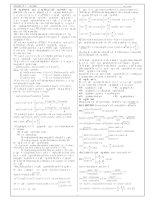 Chuyên đề luyện thi tốt nghiệp THPT quốc gia 2015 Phần lượng giác