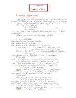 Chuyên đề đồng dư thức lớp 7