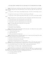 CÂU HOI TRẮC NGHIỆM VÈ LUẬT HẢI QUAN VÀ NGHỊ ĐỊNH 154 CP 2005