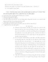 ĐỀ CƯƠNG ôn tập NHỮNG NGUYÊN lý cơ bản của CHỦ NGHĨA mác 1