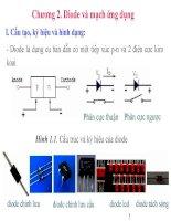 Diode và mạch ứng dụng