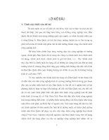 Chính sách tín dụng của Hàn Quốc trong thời kỳ CNH và kinh nghiệm đối với Việt Nam - Luận văn, đồ án, đề tài tốt nghiệp