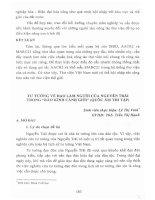 Tư tưởng về đạo làm người của Nguyễn Trãi trong  Bão kính cảnh giới (Quốc âm thi tập