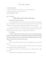 Giáo án dạy thêm môn Ngữ văn khối 6