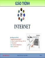Bài giảng internet google va gmail