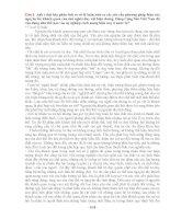 ĐÁP ÁN 10 CÂU HỎI MÔN TRIẾT HỌC CƠ BẢN DÀNH CHO HỌC VIÊN CAO HỌC