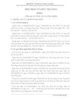 Biện pháp tổ chức thi công nâng cấp QL 279 đoạn nghĩa đo văn bàn