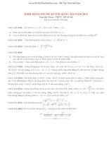 Đề thi môn toán học đại số
