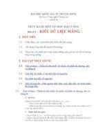 Thực hành tin học đại cương tuần 4