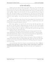 Luận văn tốt nghiệp: Một số giải pháp nhằm hoàn thiện công tác quản lý nhân sự tại Công ty cổ phần sản xuất kinh doanh Phú Thiên Long