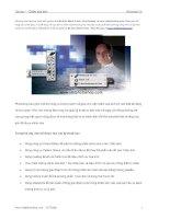 Tài liệu hướng dẫn sử dụng photoshop Chương 7 Chấm sửa ảnh