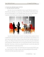 Tiểu luận môn giao tiếp kinh doanh Văn hóa Giao tiếp Kinh Doanh ở Việt Nam